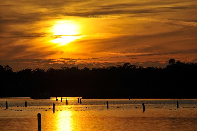 Coucher de soleil Floride