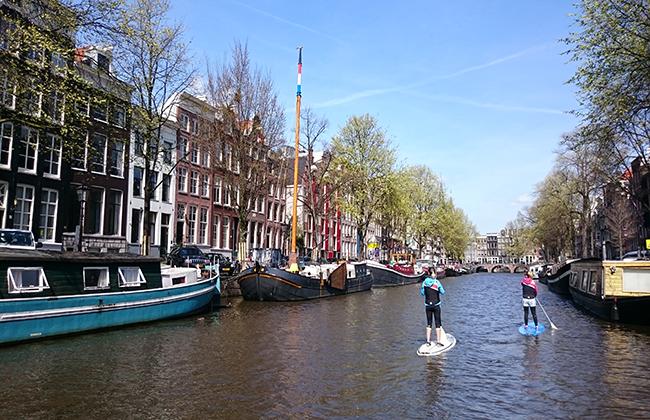 Paddle Amsterdam (Photo Heidi Lafeuil)