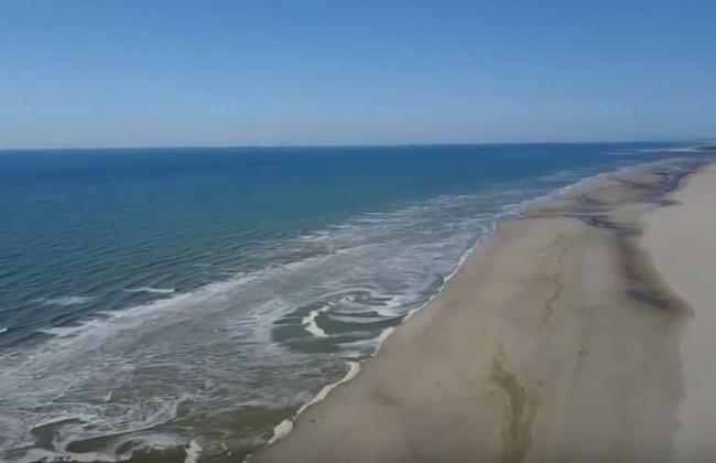 Vidéo aérienne Plage de Fort-Mahon